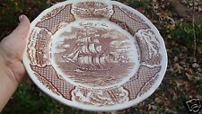 10 1/2'' FRIENDSHIP OF SALEM Dinner Plate ALFRED  MEAKIN  Staffordshire England