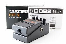 BOSS MT-2 Metal Zone Distortion Pedal w/Box w/Tracking Number From Japan