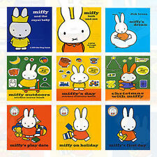 Dick Bruna 9 Books Set Miffy Collection Miffys First Day,Miffy and the Ro AU New