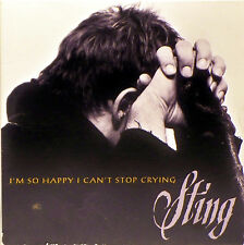 I'm So Happy I Can't Stop Crying [Single] by Sting (CD, Oct-1996, A&M (USA))