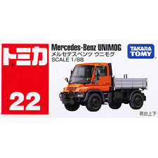 Takara Tomy Tomica #22 Mercedes-Benz UNIMOG Truck 1/88 Diecast Toy Car JAPAN