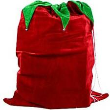 Velour Sack with Bells - 90cm - Christmas Decorations