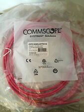 10 X gs8e-l-x3-rd modular patch Cord Systimax SOLUTIONS Commscope