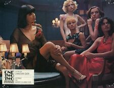SEXY SOPHIE DESCHAMPS ONE TWO TWO 122 RUE DE PROVENCE 1978 VINTAGE LOBBY CARD