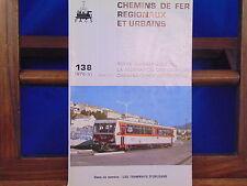 collectif Chemins De Fer Régionaux et Urbains, N°138 : les tramways d'orléa...
