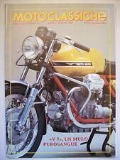 MOTOCLASSICHE 7 GENNAIO 1993 ALLEGATO A RUOTECLASSICHE N° 58 MOTO GUZZI  ( cc33)