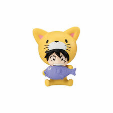 One Piece Cat Costume Nyan Mascot PVC Desktop SD Figure ~ Monkey D. Luffy @10998