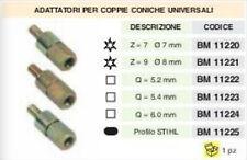 ADATTATORE COPPIA CONICA DECESPUGLIATORE UNIVERSALE (Stihl stella quadrato)