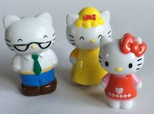 3 X HELLO KITTY FIGURES – TOY FIGURES/ CAKE TOPPERS
