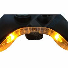 Xbox 360 PRE-WIRED Controller Bowtie / Mic Piece LED Mod (Yellow)