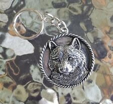 FAMILY HOUSE PET PUREBRED 1 SHIBA INU DOG PEWTER KEY CHAIN All New