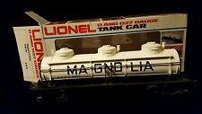 Lionel 6-9279 MPCX Magnolia Tank Car 3 Dome White - w/ Original Box Excellent