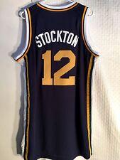 Adidas Swingman NBA Jersey Utah Jazz John Stockton Navy sz 3X