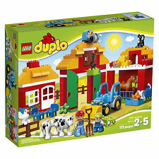 LEGO DUPLO LEGO Ville Big Farm 10525 New Sealed Complete Tractor Barn Animals
