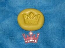 Crown Silicone Push Mold 909 For Craft Cake Chocolate Resin Fondant Gumpaste