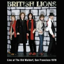 British Lions - Live at the Old Waldorf San Francisco 1978 [New CD] UK - Import