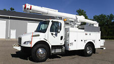 2008 Freightliner 47' Over-Center Bucket Boom Truck Lift Utility Auto Service