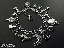 Teen Wolf Charm Bracelet Triskelion Arrows Anchors Guns Infinity Dread Doctors