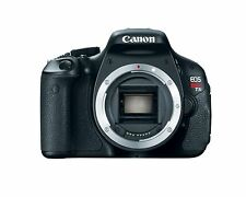 Canon EOS Rebel T3i 18MP Digital SLR Camera Black  BODY ONLY battery and Charger