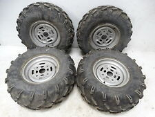 2006 Can-Am Outlander 400 ATV Carlisle 25x8R12 25x11R12 Tires Rims Front Rear