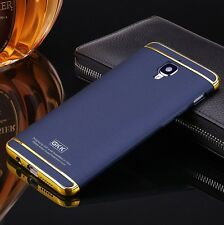 3in1 Hybrid PC Hard Back Cover Electroplating Case For OnePlus 3 / 3T - Blue