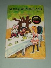 Book Vintage Whitman HC - Alice in Wonderland 1970 - Folgers Promo