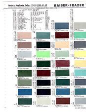 1950 henry j 1949 1950 1951 1952 kaiser frazer henry j lincoln mercury paint chips msm4
