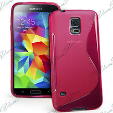 Cover Case TPU Silicone Gel Pattern S-Line For Seri Samsung Galaxy S