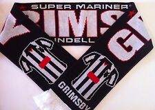 GRIMSBY Football Scarve NEW from Superior Acrylic Yarns