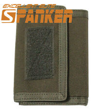 Outdoor Tactical 1000D Tri-fold Functional Airsoft Men's Sports Wallet PouchRG