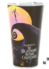 nightmare before christmas Jack On Moon Hill Pint 16 Oz Drinking, Beer Glass New