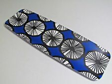 Marimekko For Target Long Serving Tray Appelsiini Print Blue Rectangle melamine