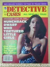 """""""Detective Cases"""" October 1995 Bad Girl Cover - High Grade"""