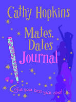 """Mates, Dates Journal (Mates Dates) (Mates Dates) Cathy Hopkins """"AS NEW"""" Book"""