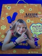 RARE Lizzie McGuire Hilary Duff Disney Christmas Birthday Party Large Gift Bag