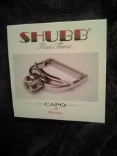 Shubb Capo F5 Finetune Fine Tune for Banjos new in box