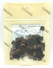 100 x Hot Fix / Glue on EIMASS® Copper Studs for Bags Shoes Phones Costume Craft