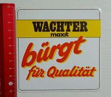 Aufkleber/Sticker: Wachter maxit (140416100)