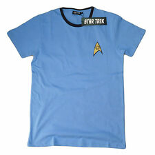 OFFICIAL Star Trek Engineer Science Medical Uniform Red Blue Yellow T-Shirt 17CA