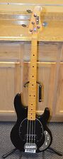 *Sterling by Music Man Sub Series 4 String Black Electric Bass Guitar