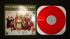 Signed It's a Holiday Soul Party Sharon Jones & the Dap-Kings Red LP Vinyl RARE