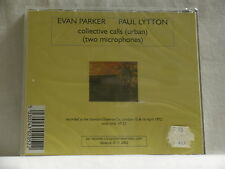 EVAN PARKER & PAUL LYTTON Collective Calls (urban) (two microphones) SEALED CD