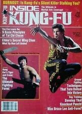 5/87 INSIDE KUNG FU MAGAZINE KEN PEREZ YIP MAN BLACK BELT KARATE MARTIAL ARTS