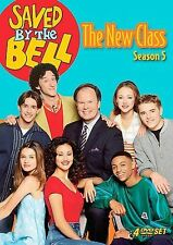 Saved By the Bell~The New Class:Fifth Season 5 (DVD, 4-Disc Set)~Season Five~NEW