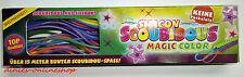 Durchgeknallt Scoubidou Bänder Flechtschnüre 15 Meter Magic Color Neu