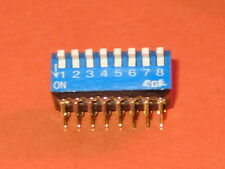 EXCEL  DIL 8 WAY  PIANO SWITCH QTY=1
