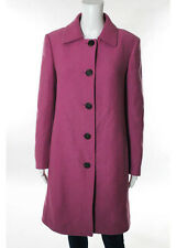 NWT AUTH CHRISTIAN DIOR Pink Button Up Cashmere Pea Coat Sz 6 $5420