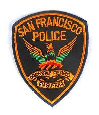 Patch Patch estados unidos Police san francisco frisco SFPD policía américa azul-amarillo