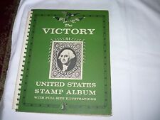 THE VICTORY STAMP ALBUM-1959 Edition-550+Stamps in Album-Good Condition