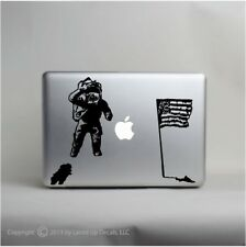 Astronaut Moon Landing macbook laptop skin vinyl decal